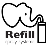 Refill spray systems